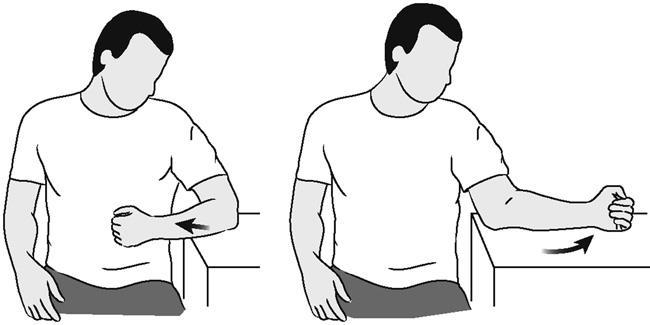 Иллюстрация поддерживаемого вращения плеча (с поддержкой)