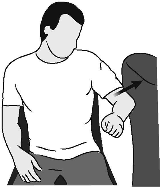 Иллюстрация похищения плеча (изометрического)