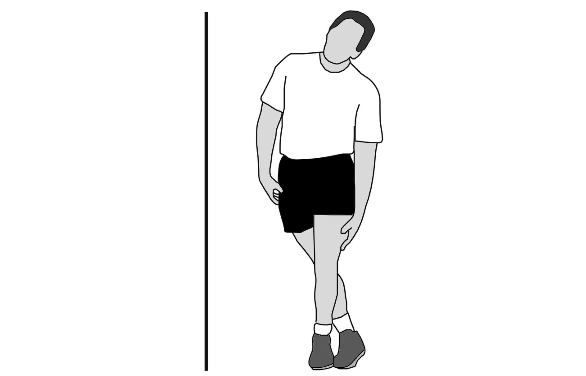 Постоянная iliotibial band stretch